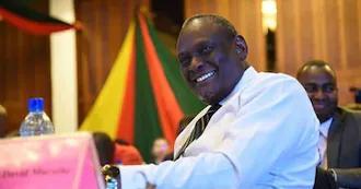 "David Murathe's Presence in Senate Surprises Ruto's Allies: ""We've a Stranger"""