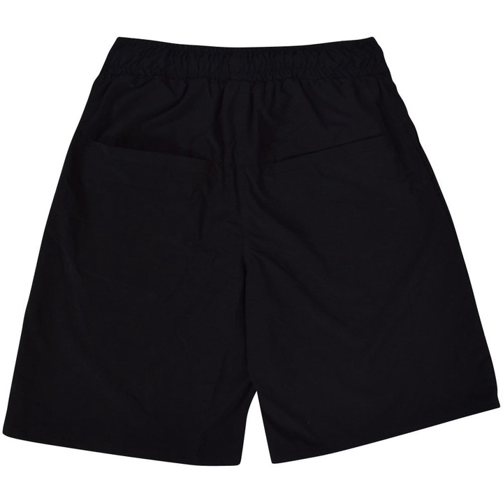 BLOOD BROTHER Black Oversized Shorts - Men from Brother2Brother UK