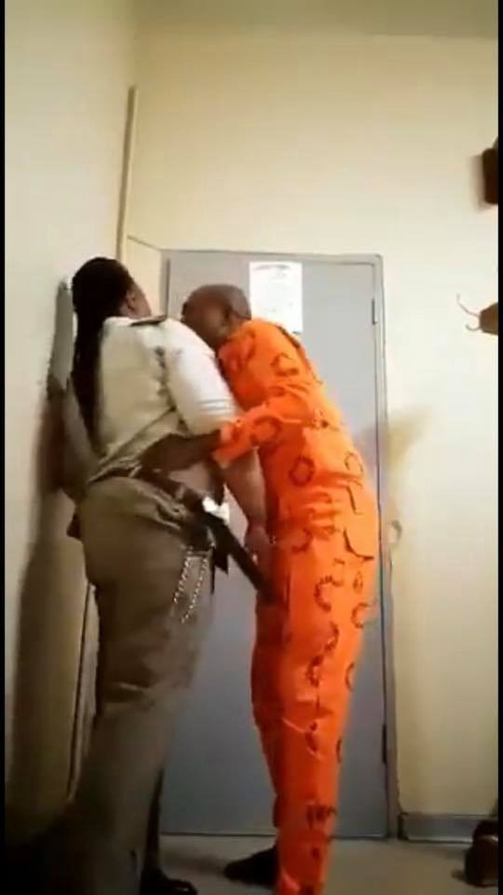 Female prison warder caught having unprotected sex with male inmate in  office (18+ photos) - Observers Times