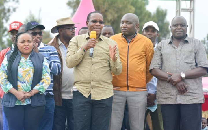 PS Kibicho shares podium with Andrew <a class=