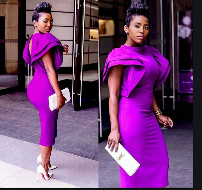 What can I wear with a purple dress to a wedding? - Quora
