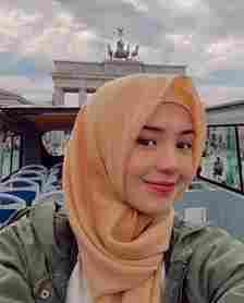 10 Potret Beby Tsabina Saat Mengenakan Hijab, Adem Banget