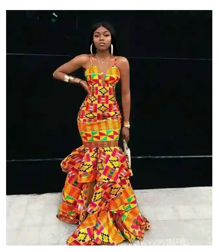 Pretty Wedding Ankara Gown Styles 2020 For Queens Opera News,Plus Size Wedding Dresses Under 300