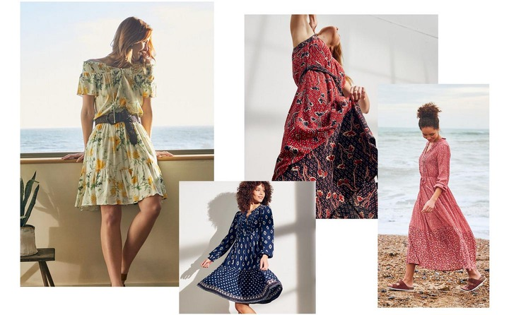 8 types of dresses every woman should know – Blog | FatFace.com