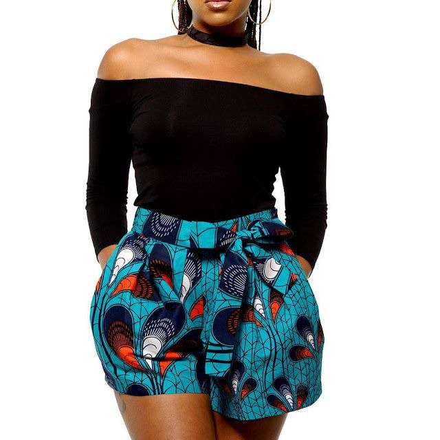 Ankara Shorts Styles For Ladies   African print fashion dresses, African  print pants, Latest african fashion dresses