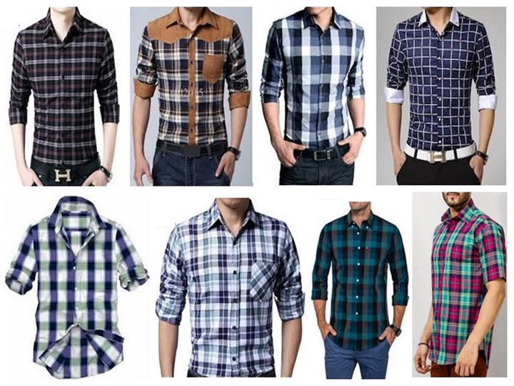 25 Stylish Designs of Checks Shirts for Men - Trending Collection