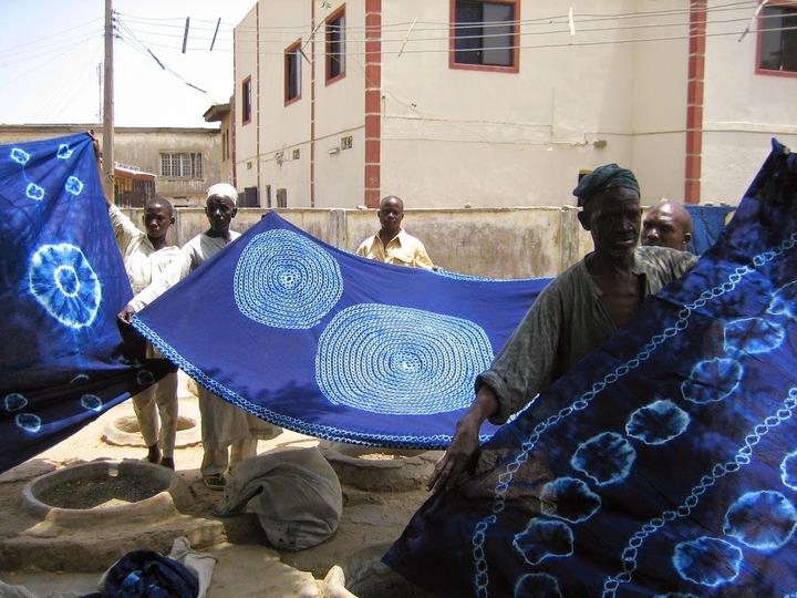 NIGERIAN ADIRE CLOTH by Obafemi Gbemisola 14/3246 – The Onlookerz