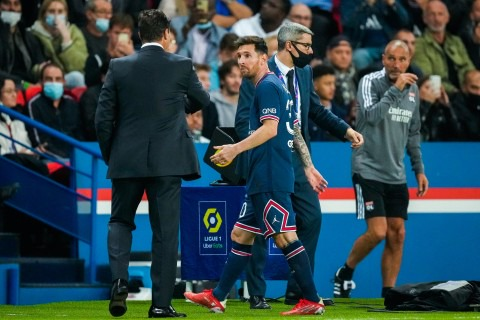 Pochettino reveals what Lionel Messi told him after PSG substitution |  Metro News