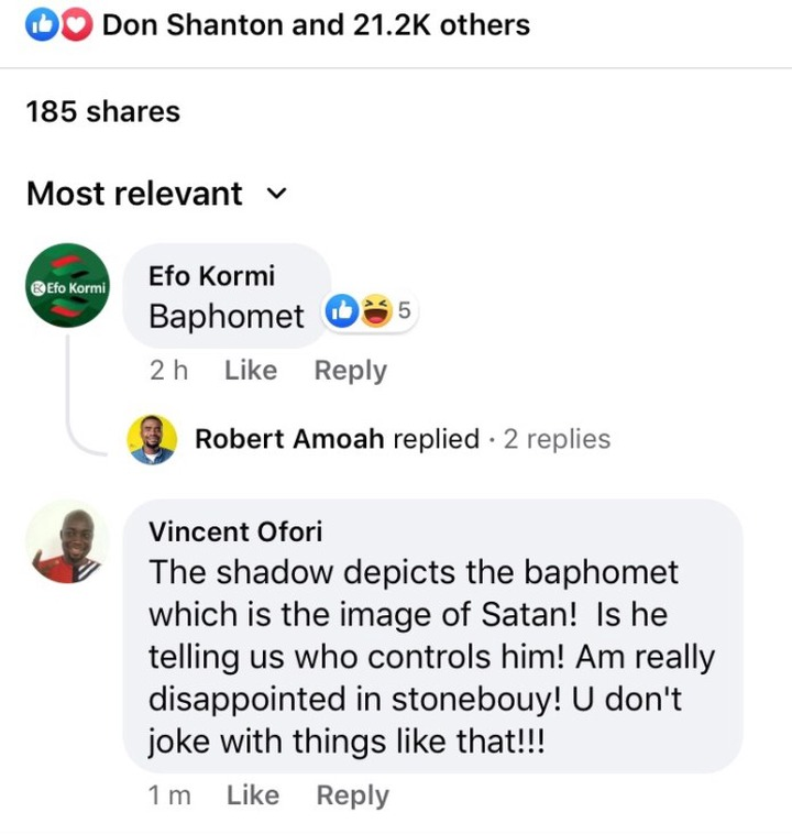0e2793de4fb4577447d0ee323e9178f9 1?source=nlp&quality=uhq&format=jpeg&resize=720 - Stonebwoy Sparks Controversy With His  New Photo; Ghanians Says He Has Joined 'Illuminati'