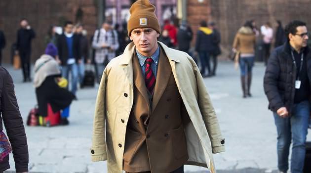 Pitti Uomo Street Style - Beanie Tailored Suit Trend