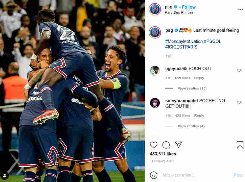 Instagram PSG