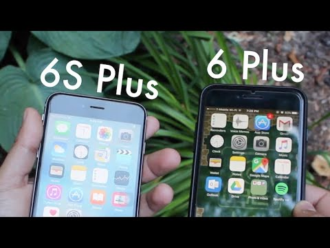 iPHONE 6 PLUS Vs iPHONE 6S PLUS In 2018! (Comparison) (Review) - YouTube
