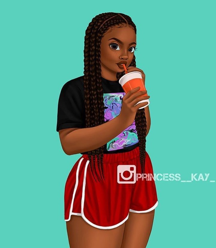 75 Black Girl Cartoon Pictures For Whatsapp Display Picture And Wallpaper Opera News