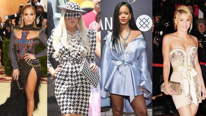 Jennifer Lopez, Lady Gaga, Rihanna, Shakira: Hollywood Singers' Fashion  Style Icons | IWMBuzz
