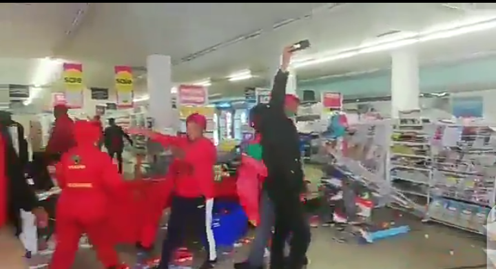 EFF Party Members Shutdown and Destroyed Clicks Shop (video) - Opera News