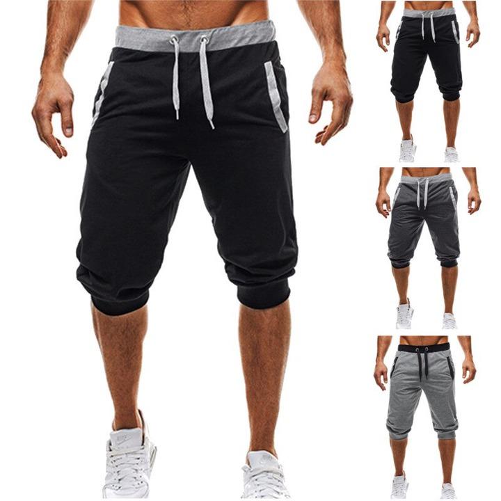 Mens Shorts Online Sale 2017 Summer Men Shorts Casual Sweatpants Elastic  Waist Cotton 3/4 Trousers Fitness Clothing Bodybuilding Male Shorts  462119406 | DHgate.Com