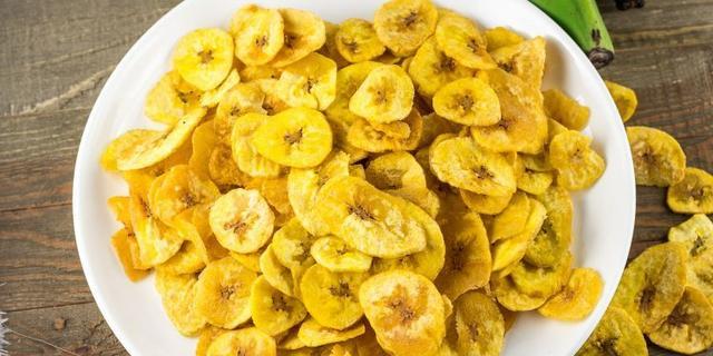 Plantain chips: Healthy plantain recipes