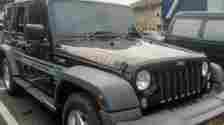 Pengemudi Sedang Makan Pecel Lele, Uang Rp 200 Juta di Mobil Jeep Rubicon Amblas