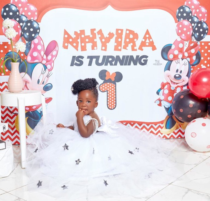 17fa71a4b5a445219d5e6f631c8d2731?quality=uhq&format=jpeg&resize=720 - Tracey Boakye's Daughter Stun Us With Beautiful Birthday Photos As She Turns A Year Old Today