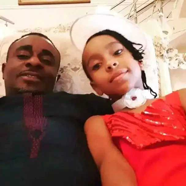 Actor Emeka Ike Daughter