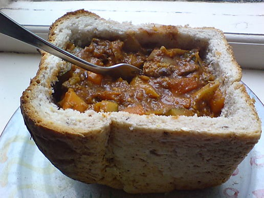 bunny-chow - South African food