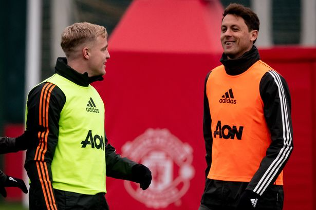Manchester United line up vs Southampton includes Donny van de Beek and  Nemanja Matic - Manchester Evening News