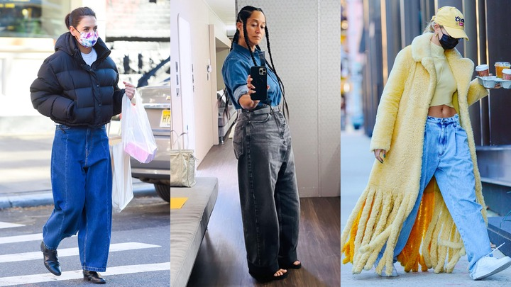 11 Best Baggy & Loose Fitting Jeans For Women in 2021 | Vogue