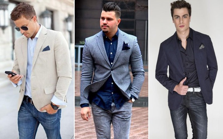 How To Wear A Blazer with Jeans (Men's Style & Outfit Ideas)