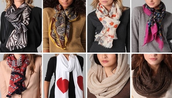 Upcoming Womens Scarves Trends in Pakistan - Latest Handmade