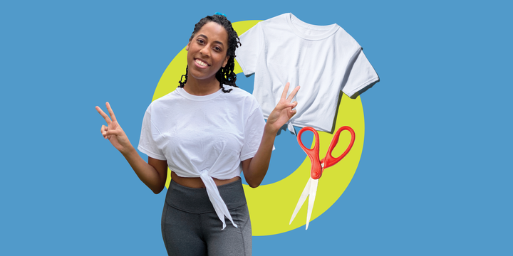 How To Cut A T-Shirt Into A Cool Workout Top – 5 Ways To Cut Tees