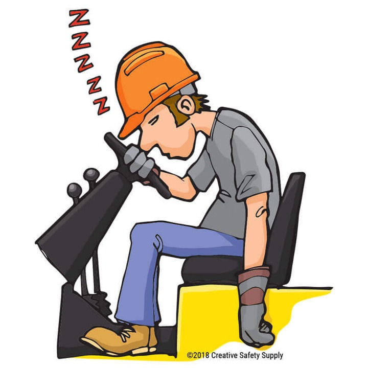 Is Fatigue Causing an Increase in Workplace Injuries?   Creative Safety  Supply Blog