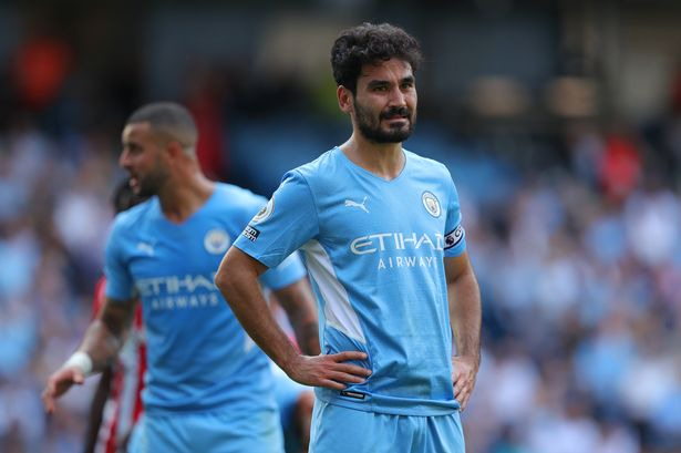 Man City suffer Ilkay Gundogan injury blow as Pep Guardiola prepares to  draft in academy youngsters - Manchester Evening News