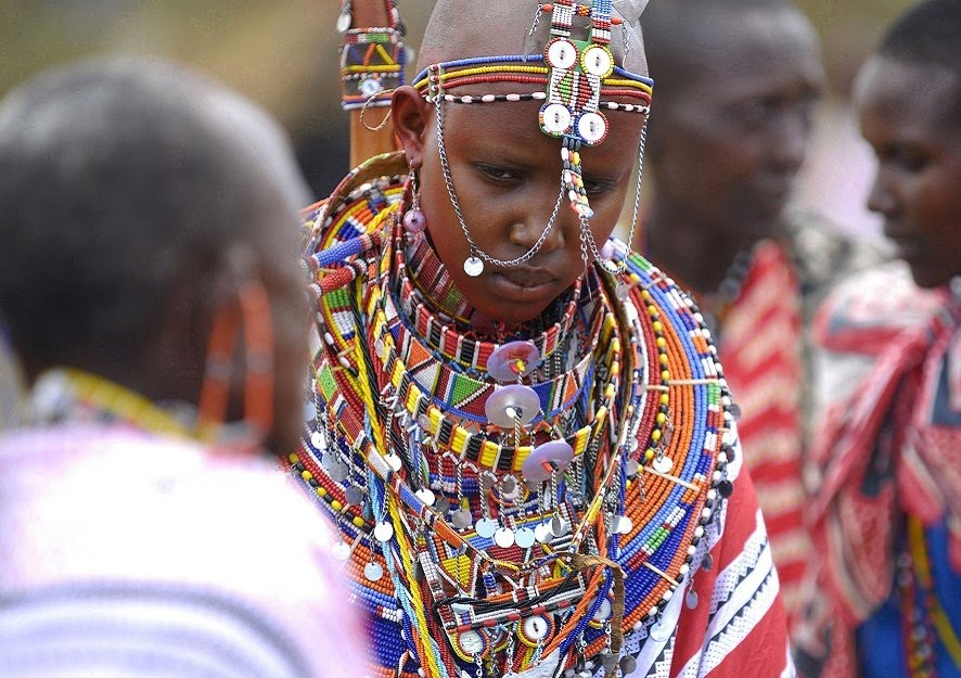 A look at the Maasai tribe's tradition of spitting at each other for blessing and respect