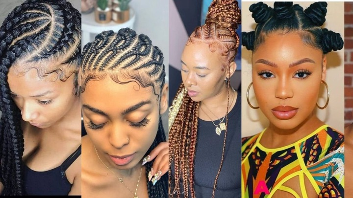 braids feed in feed in braid hairstyles. - 4040418 feed in braids 1 2 - Ladies: Choose From These Gorgeous Feed in Braid Hairstyles for your New Look