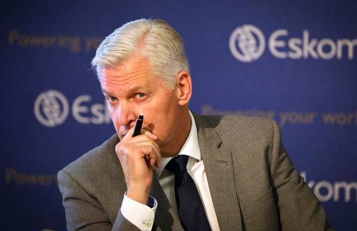Eskom CEO Andre de Ruyter. File photo.