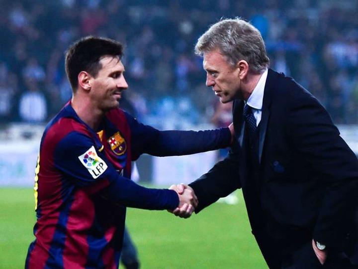 La Liga: David Moyes full of admiration for Lionel Messi   Goal.com