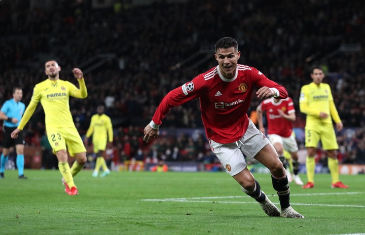 Manchester United vs Villarreal LIVE: Reaction as 'so good' Cristiano  Ronaldo scores last-minute winner as he becomes Champions League record  appearance-holder