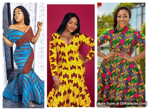African Dresses - latest ankara styles