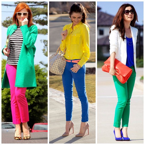 Trend Fashion: Color Blocking Outfit   Ferbena.com   Fashion Blog & Magazine