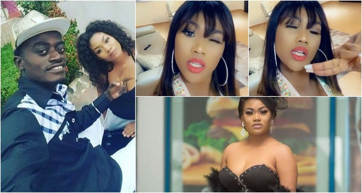 Lil win's girlfriend Sandra ababio sings songs of praises for how far God  has brought her (video)