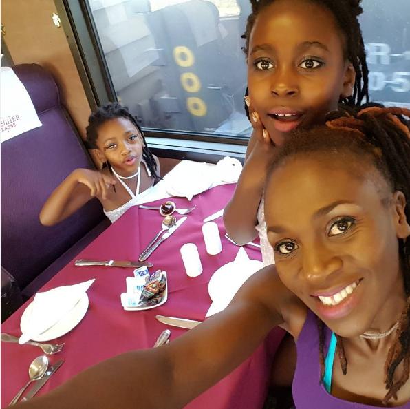 Skeem Saam Actress Celia Kunutu And Her Daughter Are All Kind Of Cute - Opera News