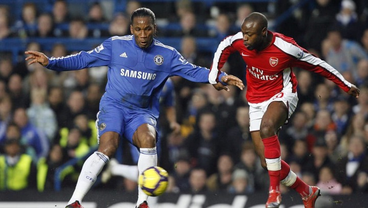 William Gallas Admits He Feared Playing Against Didier Drogba | 90min