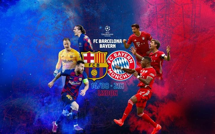 Barcelona Vs Bayern Munich Head To Head Record Stats Results Opera News