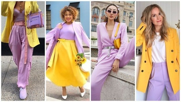 Friday Fashion Fits: How to Wear Lavender and Yellow Together