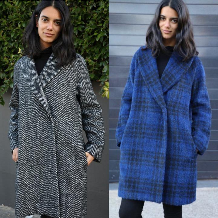 Oslo Coat Pattern – Tessuti Fabrics - Online Fabric Store