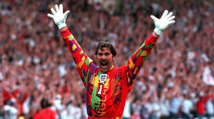 He used it during the 1996 Euro Cup. Source: Getty Images