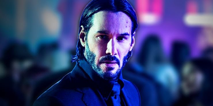 Keanu Reeves as John Wick in Chapter 2