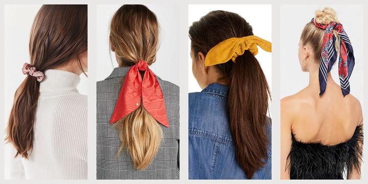 15 Cute Scrunchies to Buy 2021 - Trendy Stylish Hair Scrunchies