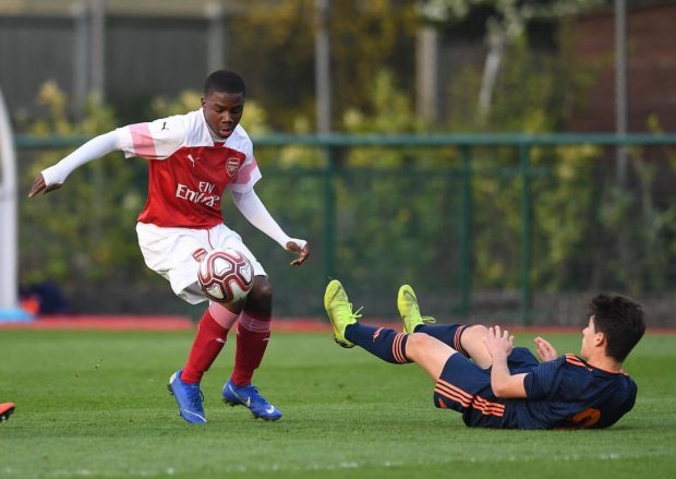 Report – Butler-Oyedeji hits brace but Arsenal U18s surrender lead to draw  against Tottenham   Jeorge Bird's Arsenal Youth