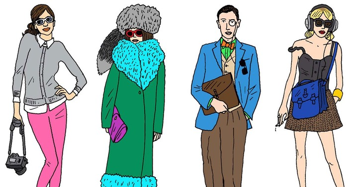 The Ten Types of People You See at Fashion Week